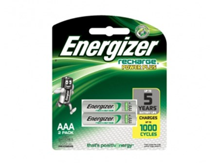 ENERGIZER RECHARGEABLE NH12URP2 BATTERY AAA 2'S
