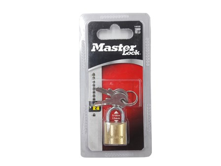 Padlock MS-P-1900D Solid Brass 20mm