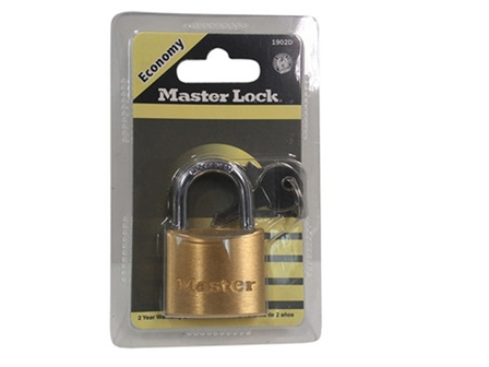 MasterLock Padlock  MS-P-1902D Solid Brass 40mm