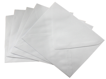 Sonoma Baronial Envelope #7.5 White 10 pcs