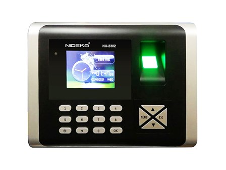 Bundy Clock NU2302 Fingerprint