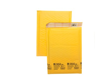 Sonoma Bubble Mailer R#0 Golden Kraft 7 x 9