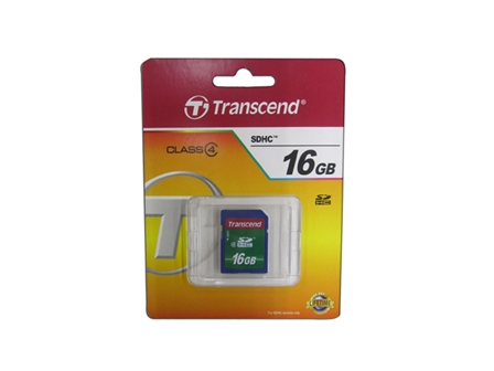 Transcend Secure Digital Card 16GB