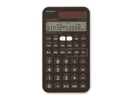 Sharp Scientific Calculator EL-510RN 160 Function