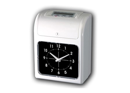 Bundy Clock DX-8 White