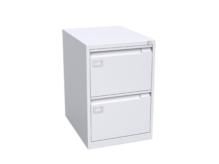 Filing Cabinet 2 Drawer Vertical JF-V002 Gray