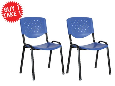Buy One Take One Multi-Purpose Chair CF-304PL Blue
