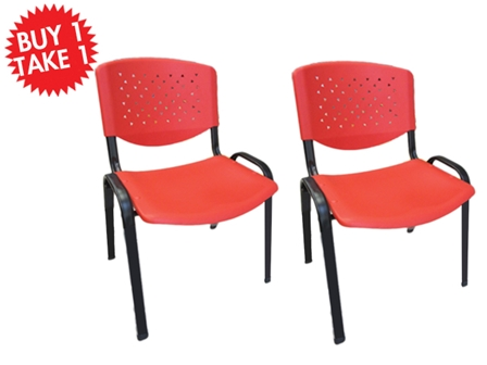 Buy One Take One Multi-Purpose Chair CF-304PL Red