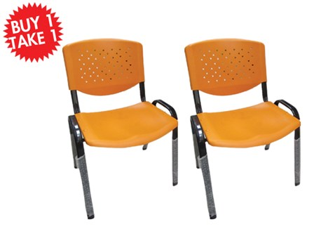 Buy One Take One Multi-Purpose Chair CF-304PL Orange