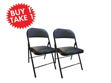 Buy One Take One Multi-Purpose Chair C-126 Black