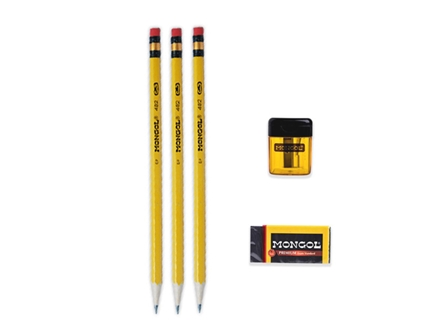 Mongol Exam Set Pencil Set Pack