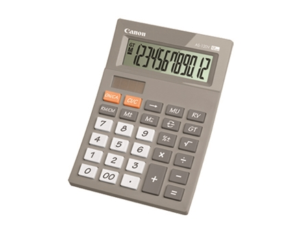 Canon Calculator AS-120V Gray 12 Digit