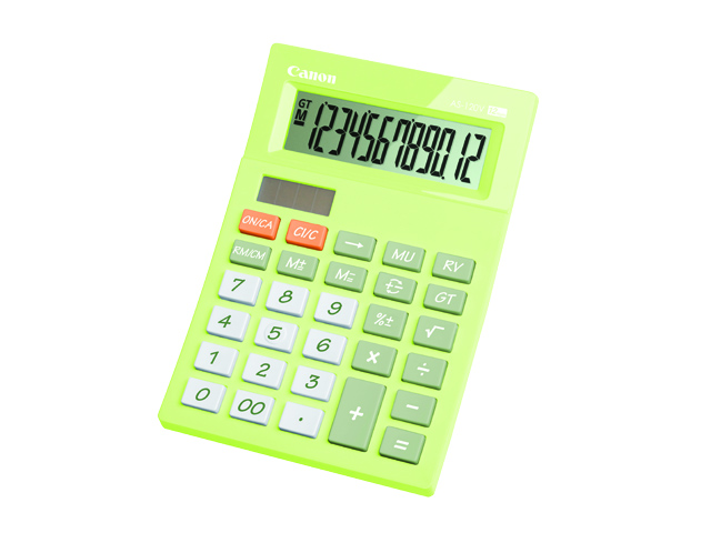 Canon Calculator AS-120V Green