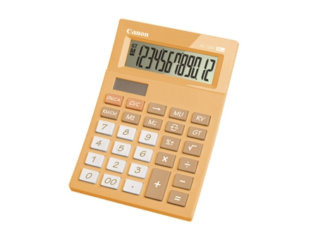 Canon Calculator AS-120V Orange 12 Digit