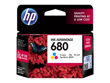 HP 680 Ink Cartridge F6V26AA Colored
