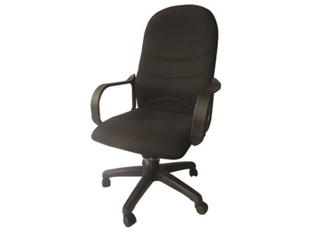 Buy 2 Executive Chair EN-18 Hi-Back Black
