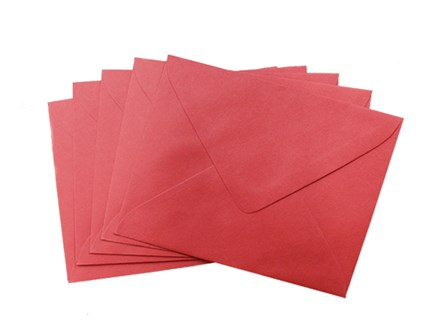 Sonoma Baronial Envelope #4 10/pack Red