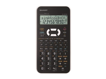 Sharp Scientific Calculator EL-531XH White
