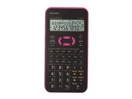 Sharp Scientific Calculator EL-531XH Pink