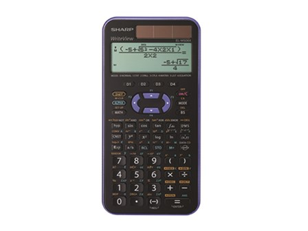 Sharp Scientific Calculator EL-W506X Violet