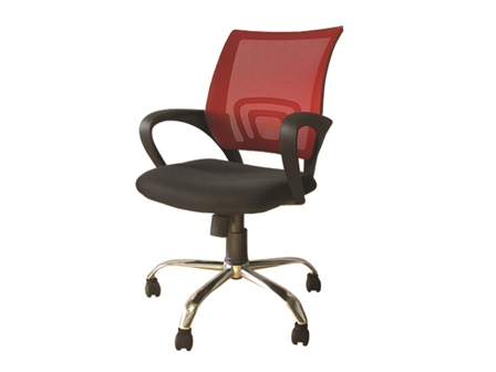 Task Chair 8014 Mesh Fabric Red