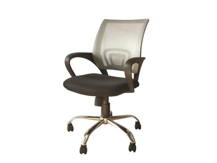 Task Chair 8014 Mesh Fabric Gray
