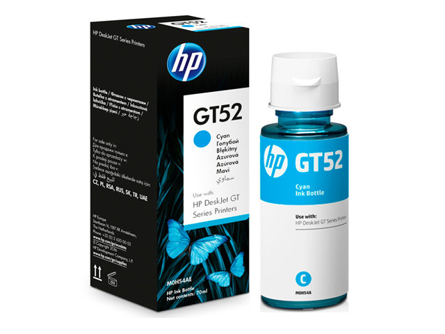 HP Ink Bottle GT52 Cyan