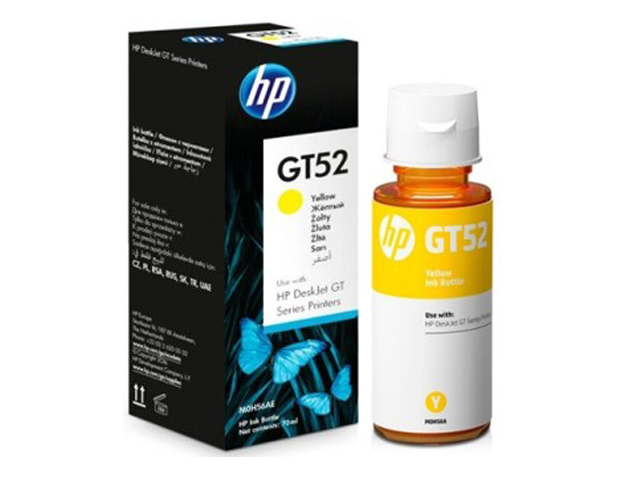 HP Ink Bottle GT52 Yellow