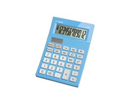 Canon Calculator AS-120V Blue 12 Digit