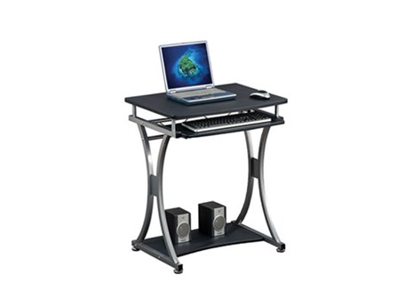 Computer Table S-328 Graphite Black