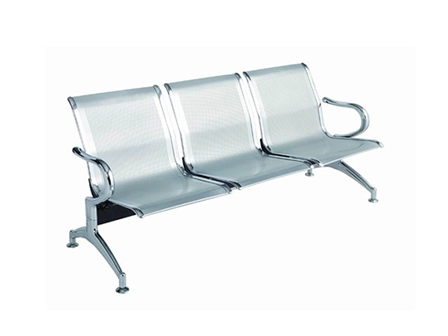 Gang Chair 3 Seater All Steel A61