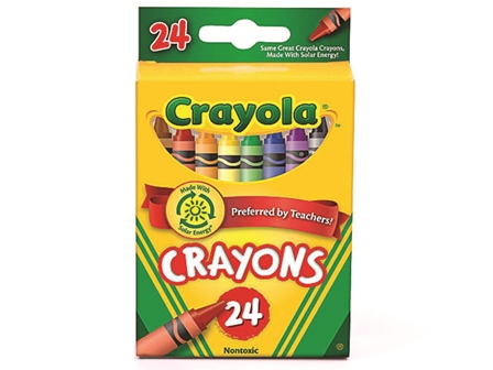 Crayola Crayon 24 Colors