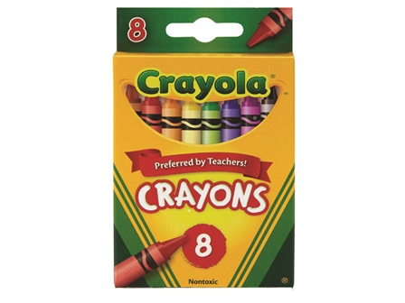 Crayola Crayon 8 Colors