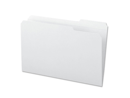 Office Warehouse Folder 14PTS White Letter
