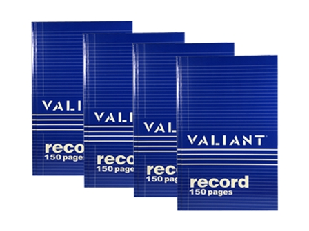 Valiant Record Book Junior Promo Pack 4's