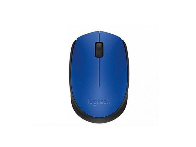 Logitech Mouse Wireless M171 BLU