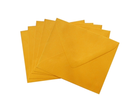 Sonoma Baronial Envelope #4 Orange 10/pack