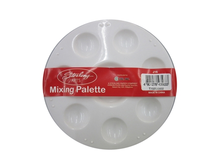 Sterling Mixing Palette Round