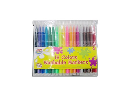 Art Attack Washable Markers 18 Colors