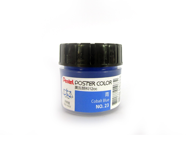 Pentel Poster Color T71POCT23E Cobalt Blue 22ml