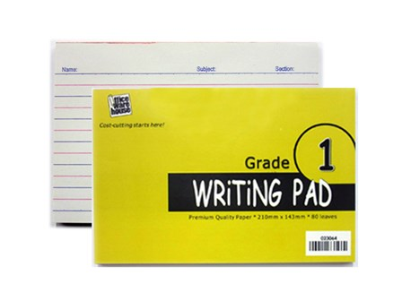 Office Warehouse Grade 1 Pad Paper w/Plastic 2/pack 80/Leaves