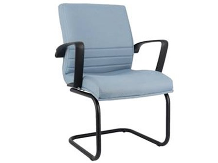 Visitor Chair SI-04 Low Back SBlue
