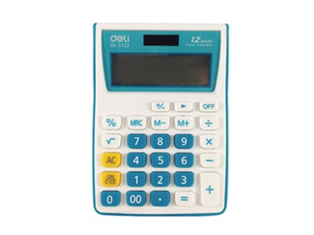 Deli Calculator Standard 1122
