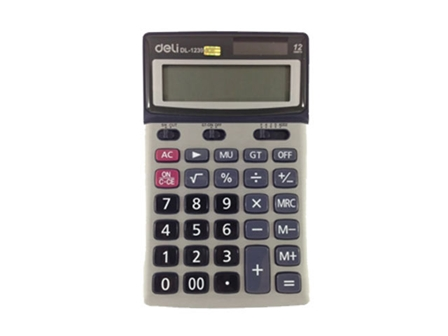 Deli Calculator Standard 1239