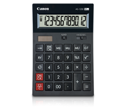 CANON CALC STANDARD AS1200  12 Digits