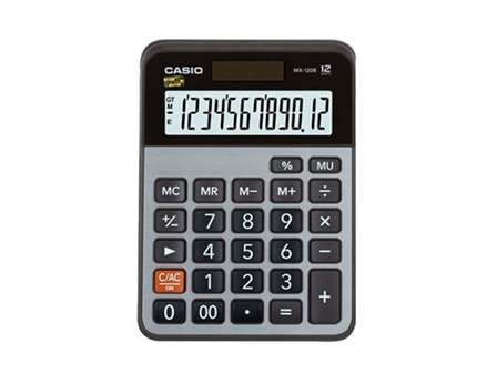 Casio Calculator MX-120B  12 digits
