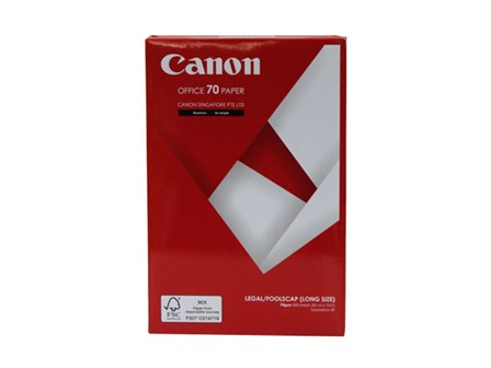 Canon Copy Paper Sub-20/70g Legal / 500 pcs per ream W/20pcks