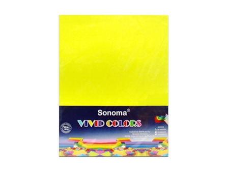 Sonoma - Vivid Color N. Yellow Letter/10s