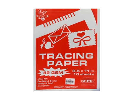Veco Tracing Paper 82gsm Letter 10s