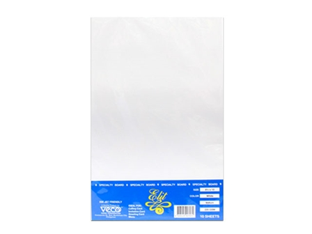 Veco - Vellum Board White 220gsm Legal/10's